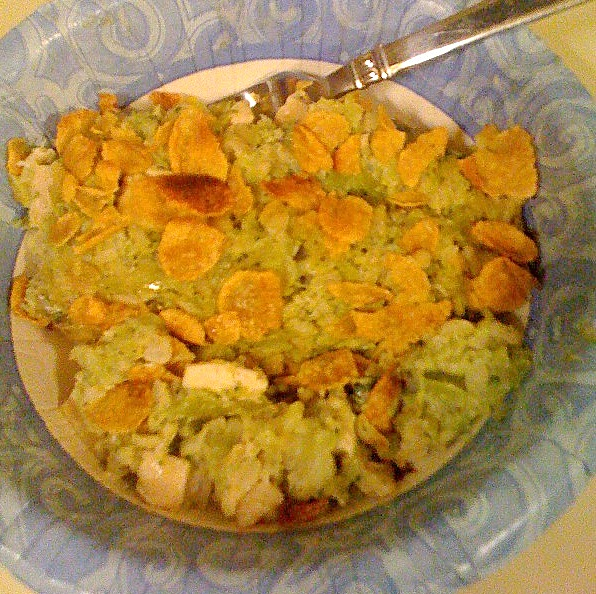Tags: broccoli , brown rice , chicken , cream of broccoli
